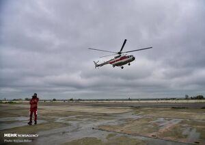 عکس/ گشت هوایی هلال احمر