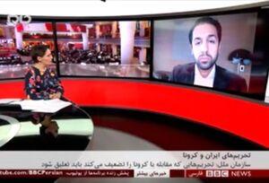 گزارش بیبیسی از تاثیر تحریم بر مبارزه با کرونا