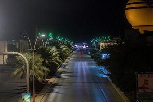عکس/ مقررات منع آمد و شد در مکه