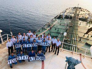 قرنطینه دریانوردان ایرانی در نفتکش