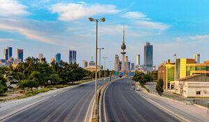 خیابان های خلوت کویت