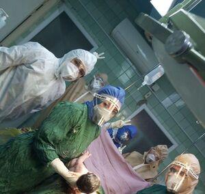 سزارین موفقیت آمیز مادر مبتلا به کرونا در بیمارستان نبی اکرم اشنویه