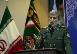 فیلم/ واکنش وزیر دفاع به مزاحمت آمریکا برای نفتکشهای ایرانی
