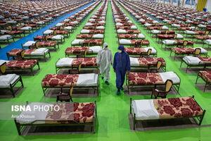 عکس/ نقاهتگاه ۲۰۰۰ تختخوابی ارتش در تهران
