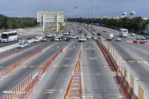 عکس/ محدودیت ورود و خروج به پایتخت