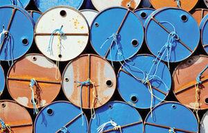 عکس/ در اتفاقی نادر بهای نفت وست تگزاس منفی شد
