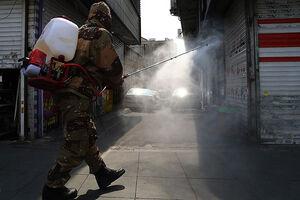 تلاش شبانهروزی پاسداران برای ضدعفونی شهرها