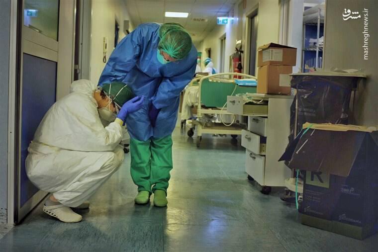 پرستاران آمریکایی کرونا