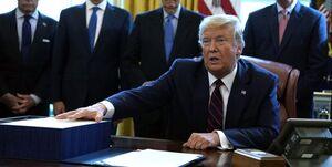 الزام جنرالموتورز به تولید دستگاهتنفسی؛ ترامپ بسته حمایتی ۲ تریلیون دلاری را امضا کرد