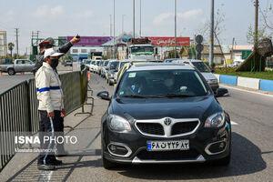 عکس/ وضعیت ورودی و خروجی شهرهای مختلف ایران
