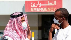 فیلم/ اقدام عجیب شهروند سعودی درمقابله با کرونا