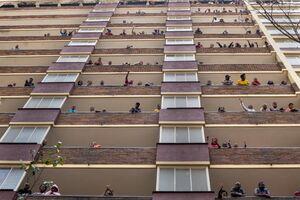 عکس/ تلاش مردم آفریقا برای شکست کرونا