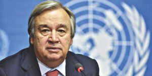 پاسخ گوترش به ایران: سازمان ملل خواستار کاهش تحریمها در بحبوحه شیوع کرونا است