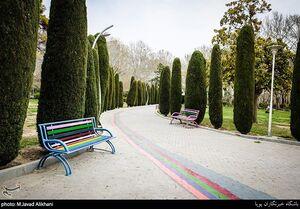 عکس/ پارکهای تهران در روزهای کرونایی