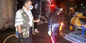 روایت جانباز شیمیایی از جنگی که به خانهها کشیده شد +عکس