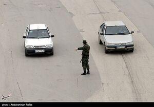 عکس/  محدودیتهای ترافیکی در همدان