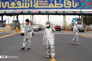 عکس/ وضعیت تردد در عوارضی قم-تهران