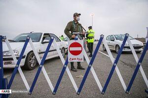 عکس/ برخورد پلیس با خودروهای غیر بومی