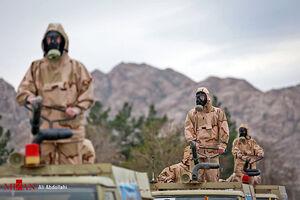 عکس/ رزمایش دفاع بیولوژیک در مشهد