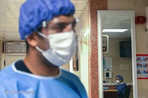 عکس/ بخش بیماریهای تنفسی در کیش