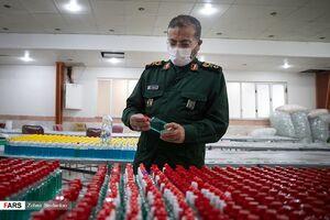 عکس/ بازدید سردار سلیمانی از قرارگاه مبارزه با کرونا