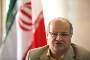 قدردانی دکتر زالی از مردم تهران برای رفتار مسئولانه