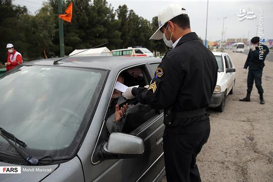 فیلم/ ادامه ممنوعیت ترددهای بین شهری