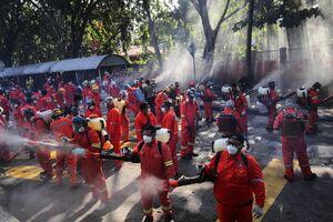 عکس/ پیشگیری از کرونا در مالزی