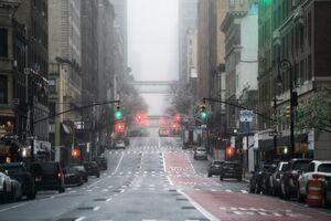 عکس/ نیویورک شهر ارواح شد