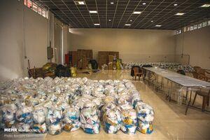عکس/ توزیع ۱۱ هزار بسته بهداشتی در بجنورد