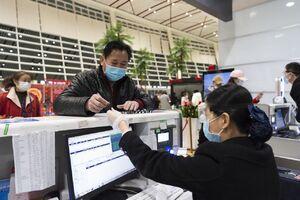 عکس/ فعالیت مجدد فرودگاه ووهان چین