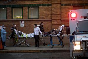 تصاویری وحشتناک از اجساد بیماران کرونا