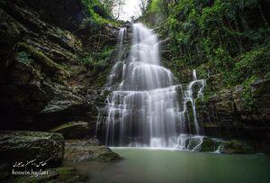 عکس/ آبشاری زیبا در استان گلستان