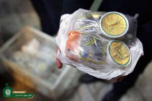 توزیع غذا آستان قدس رضوی در مراکز درمانی