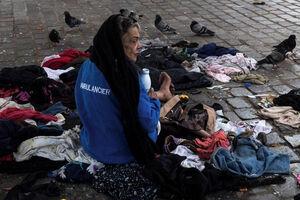 عکس/ بیخانمانها در بحبوحه شیوع کرونا