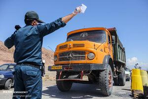 عکس/ وضعیت تردد در ورودی یزد