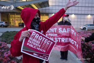 عکس/ تجمع اعتراضی پرستاران