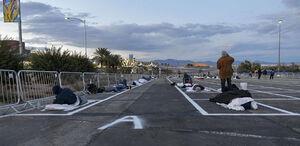 عکس/ تدبیر دولت آمریکا برای بیخانمانها
