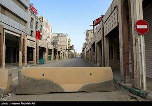 عکس/ وضعیت تردد در آبادان و خرمشهر