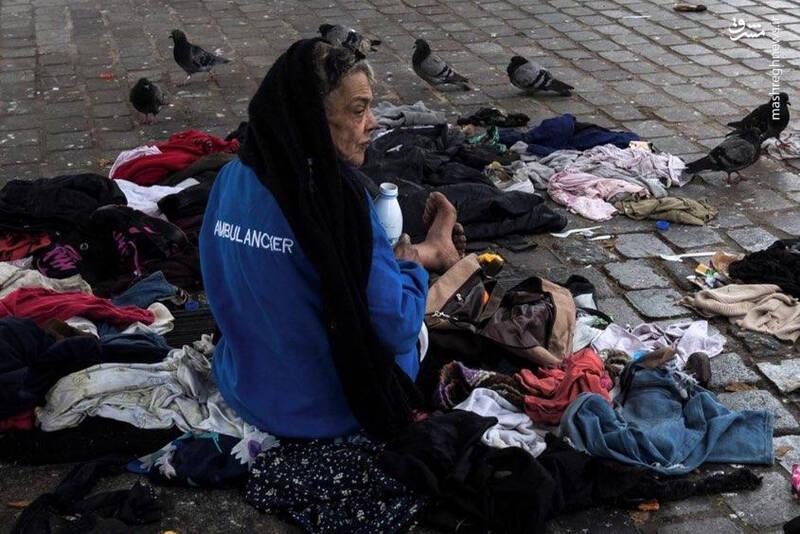 افزایش بیخانمانها و صفهای طولانی دریافت غذا در آمریکا