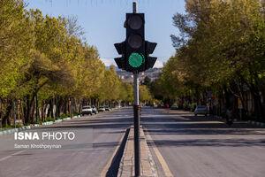 عکس/ اصفهان در خانه ماند!