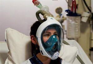 استفاده از ماسک غواصی به جای ماسک پزشکی در اروپا