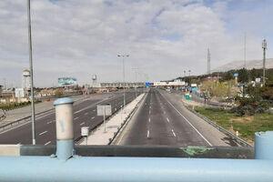 عکس/ محدوده پل چیتگر در روز ۱۳ فروردین