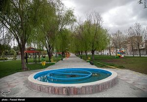 عکس/ سایه سنگین کرونا بر شهر کرمانشاه