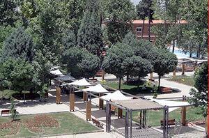 تصاویر هوایی از پارک چیتگر در روز طبیعت