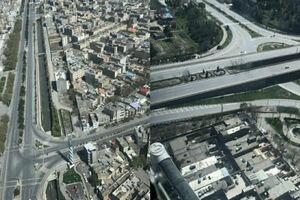تصاویر هوایی از روز طبیعت در مشهد