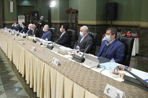 عکس/ جلسه هیات دولت در ۱۳ فروردین