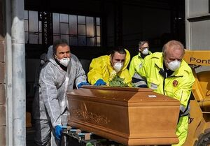 فیلم/ قبرستان قربانیان کرونا در برزیل