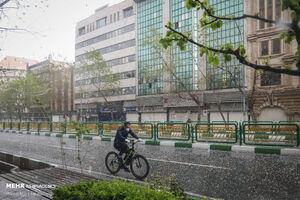 هشدار قرمز هواشناسی نسبت به رگبار باران