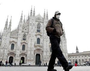 فیلم/ خودکشی میلیاردر ایتالیایی به دلیل کرونا